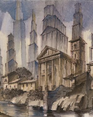 Выставка архитектурной графики «Сергей Чобан: рисунки и проекты»_5ffe88f6ce9d1.jpeg